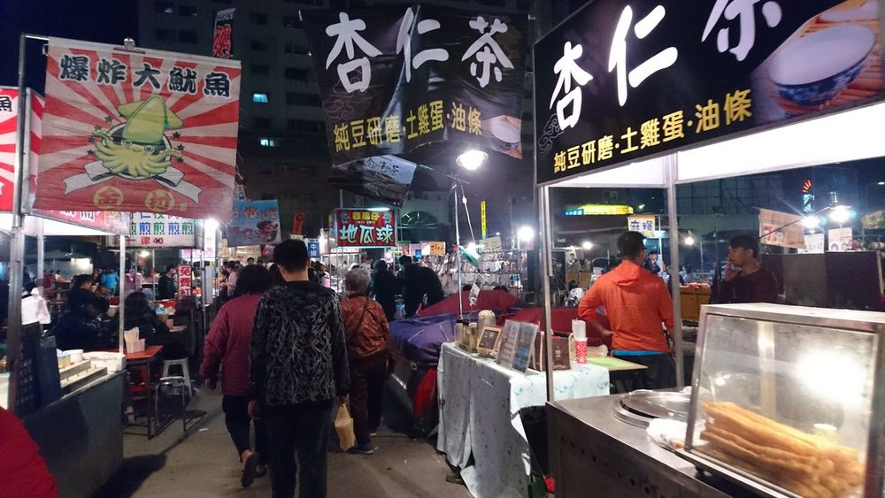 Taiwan Night Market Snacks! Adults Only Store Lifestyles Night Choice One Woman Only Women People Leisure Activity City Illuminated Only Women One Person Buying Adult Outdoors Retail