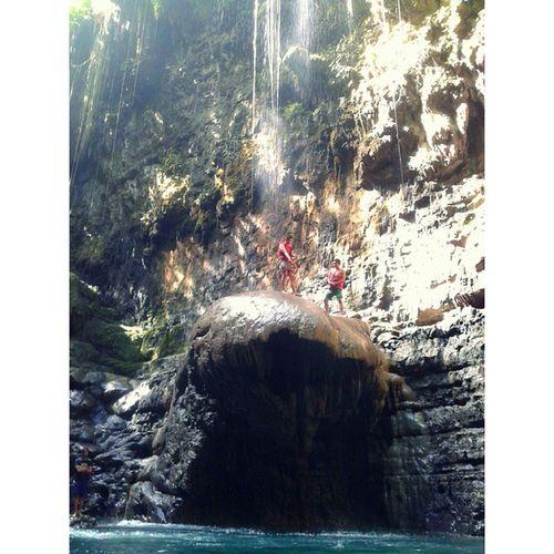Greencanyon  Cukangtaneuh Pangandaran Ciamis holiday obyekwisata fun chill brother jump dare