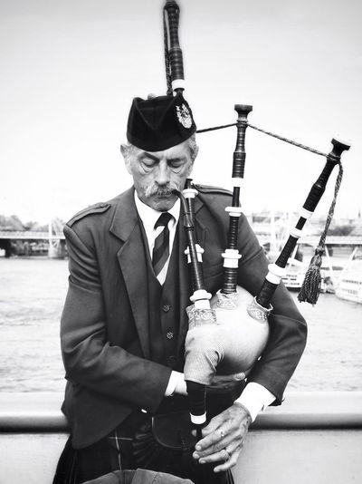 Scottish Man in London