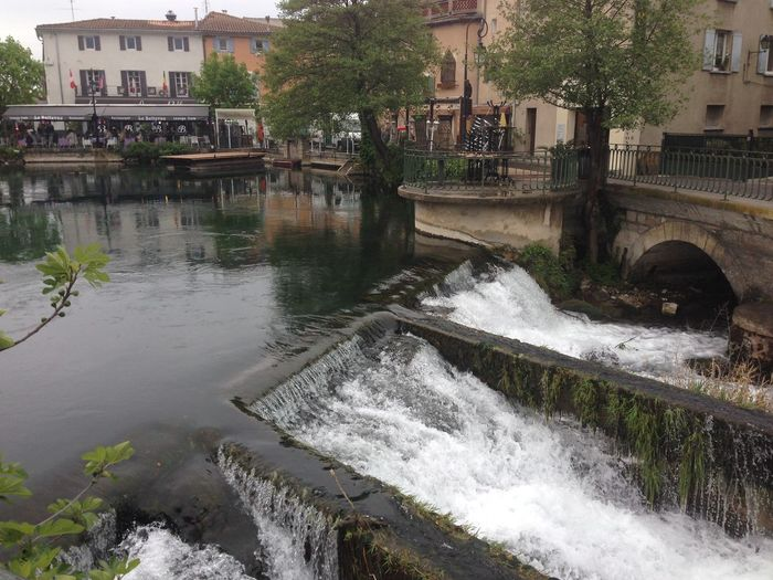 France Alternative Energy Architecture Bridge - Man Made Structure Building Exterior Built Structure City Connection Dam Day Flowing Water Fuel And Power Generation Hydroelectric Power Motion Nature No People Outdoors Power In Nature River Tree Water Waterfall Waterfront Watermill