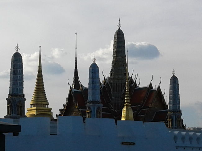 Grand palace Bangkok Thailand. Bhudha Temple - Building Historical Building