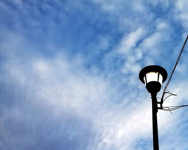 Street Light No People Cloud - Sky