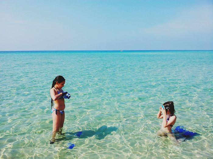 Mare Mare ❤ Acquacristallina Beach Of Puglia Mare Puglia Punta Prosciutto Puglia Sea Italy Sea View Seafront Beach Of Porto Cesareo