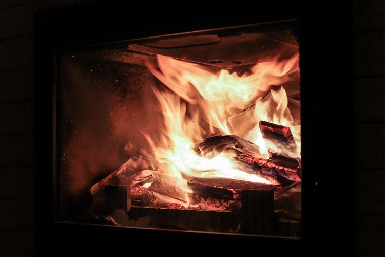 Fire in a