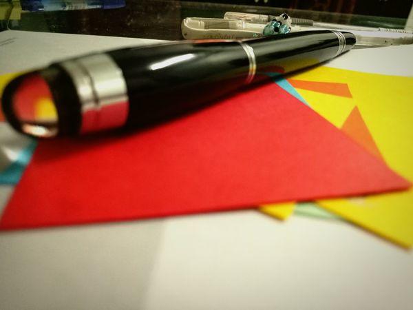 Paper Pen And Paper Pen Colourful View Colour Of Art Paper Art Pen View Colour Paper Black Pen Colorful Thoughts. Black Pen