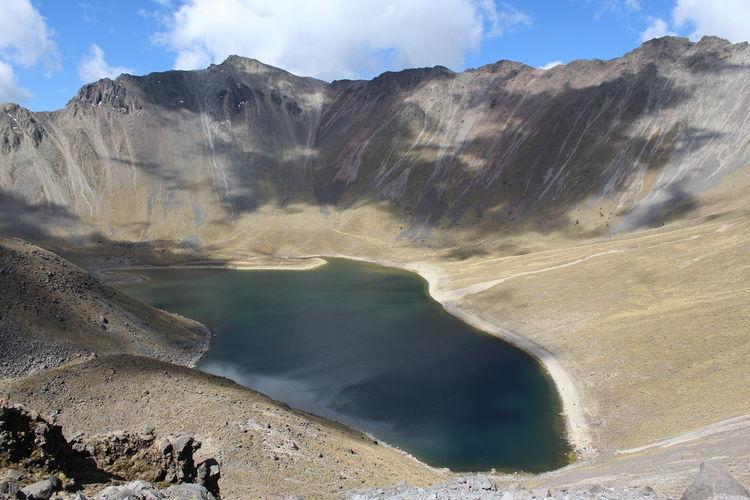 Arid Climate Laguna Del Sol Lake Mountain Nevado De Toluca Outdoors Volcano Water