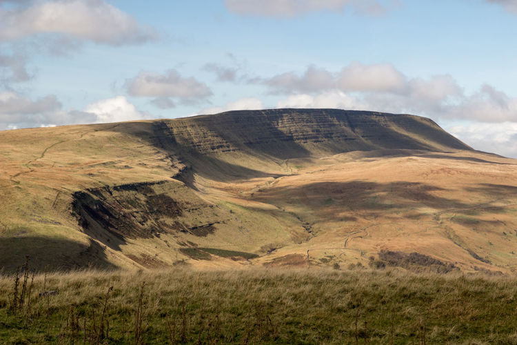 Brecon Beacons National Park Fan Hir Wales Beauty In Nature Carmarthen Fans Cloud - Sky Landscape Mountain Mountain Range Nature No People Outdoors Physical Geography Scenics Sky Tranquil Scene Tranquility Lost In The Landscape