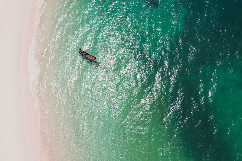 Aerial View of sali island, Myanmar Summer Sea Water Nature Holiday Travel Wave Day Tourists Trip Myanmar Burma ASIA Seascape Top View Asian  Beauty In Nature Indian Ocean Andaman Boats⛵️ Nautical Vessel Turquoise Colored Areal View Sali Island Aerial View
