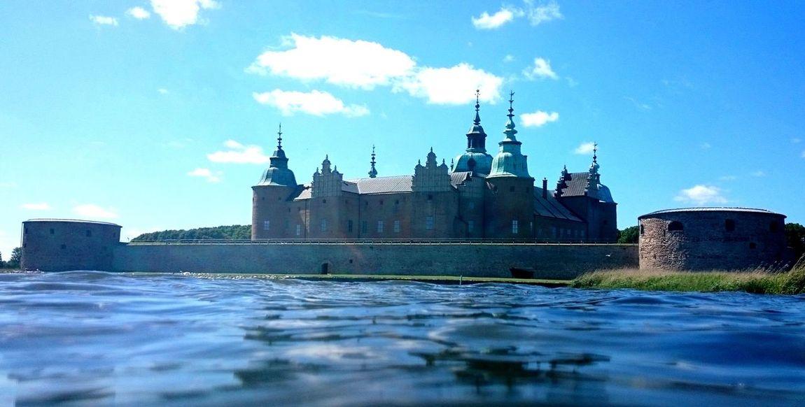 Kalmarslott Kalmar Kalmarsommar Slott Schloss Wasserschloss Schloss Kalmar Sverige Sweden Schweden Art Waterline Tourism Castle Old Buildings Skone Swedish Summer