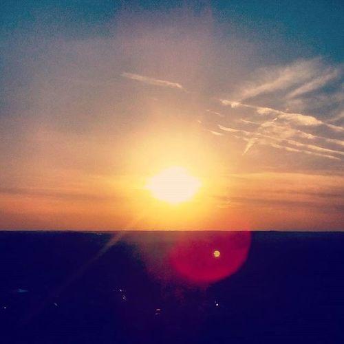 Naplemente Sun Colors Szabadság Természet