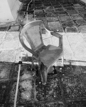 Black & White Chair Art Shadow-art In Belgrade Serbia