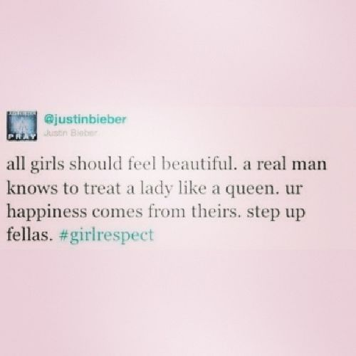 Respectgirls Justinbieber
