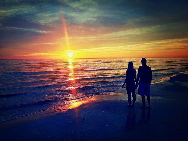 Couple at Sunset EyeEm Best Edits EyeEm Best Shots Eye4photography