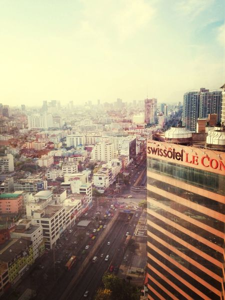 View from top bkk