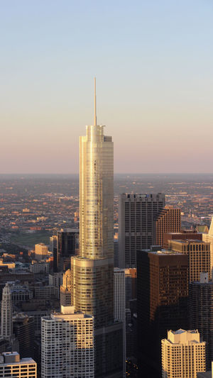 Sunrise capture of the Chicago landscape Building Exterior City Architecture Built Structure Sky Building Cityscape Office Building Exterior Skyscraper Modern Tall - High No People Landscape Tower Clear Sky Urban Skyline Outdoors Financial District  Chicago Architecture Architectural Feature Architectural Column Urban Urban Landscape Urban Geometry Landscape_Collection Landscape_photography City Cityscape Sunrise Dawn Aerial View Aerial Photography