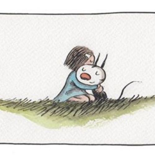 Enriqueta Fellini Liniers Cat gato child niña <3