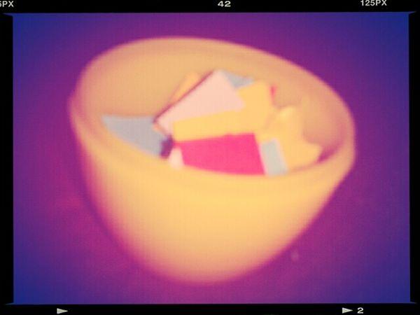 Papercutting Plastic Egg
