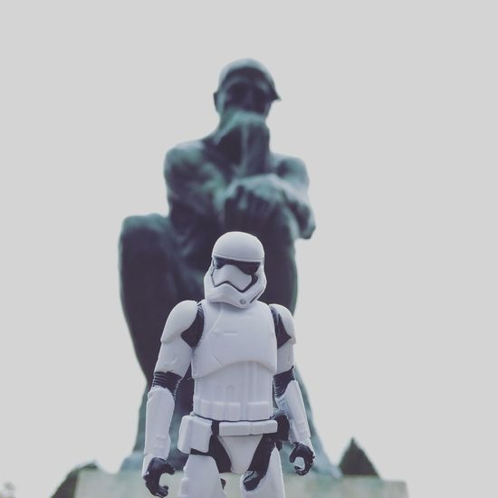 Musée Rodin, Paris Starwars Stormtrooper Paris