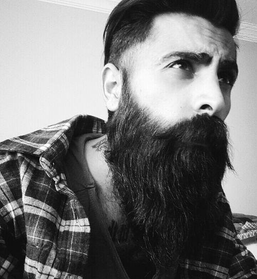Tattoo Tattoos Beard Beardlife Bearded Blackandwhite Hair Beardman Black And White