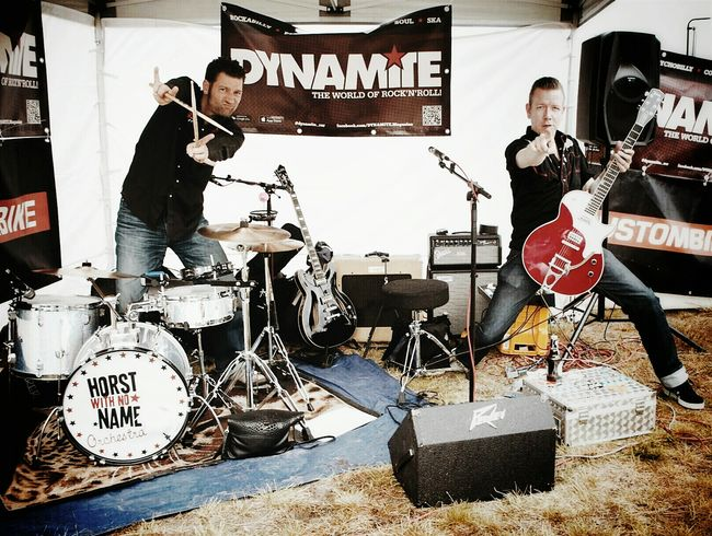 """The smaller the stage - the bigger the fun... """"Horst with no name"""" For The Love Of Music Live Music Concert Rock'n'Roll Rockabilly Race61 I Love What I Do  Musician Dancing Soundtrack Of Our Lives RePicture Masculinity"""