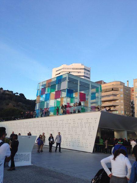 Centro Pompidou Malaga Hello World