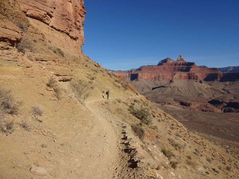 #grandcanyon Airzona Beauty In Nature Geology Hike Hiking Landscape Nature Non-urban Scene Trail