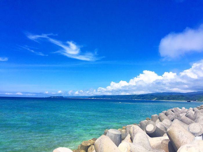 2016年6月8日(水)宜野座村 Cloud Ginoza Nature Ocean Okinawa Sea Sky
