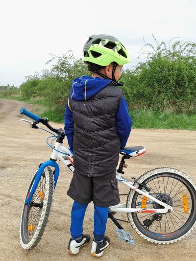 Biking with no mud is no fun Kids Having Fun Bicycle Child Outdoors MTB Mud Cubebikes Getoutside