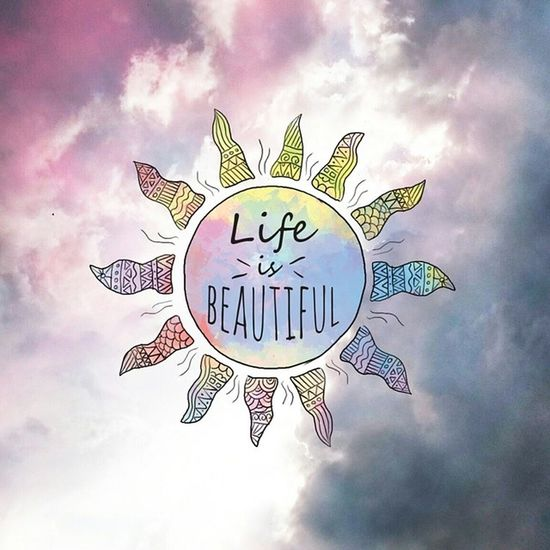 Life is beautiful. Sommar2014 Sol Himmel Sky love life colors