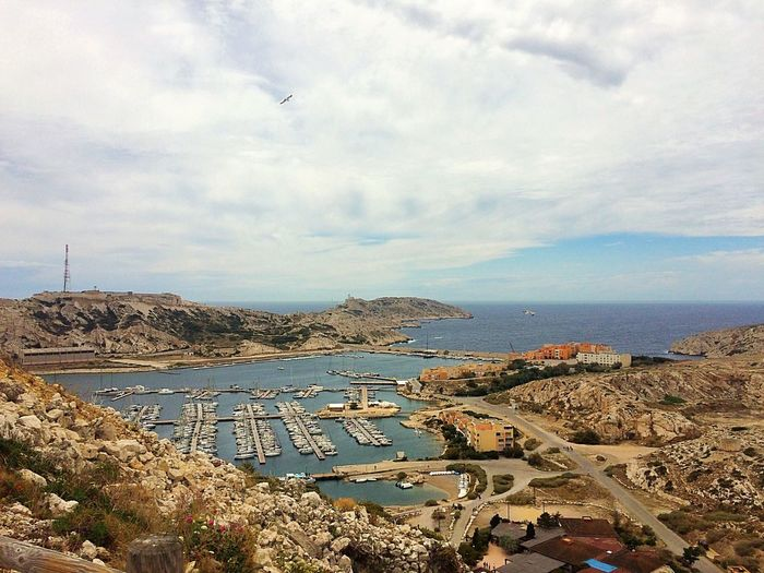 Îlle D'if Marseille Marseille, Chateau D'if, Ile Du Frioul Chateau D'if France France 🇫🇷 France Photos Mediterranean  Mediterranean Sea Méditerranée Sea Sea And Sky Port Harbour Harbor Harbour View View From Above View From The Top Boat Boats Boats⛵️ Landscape Nature Cloud Clouds And Sky