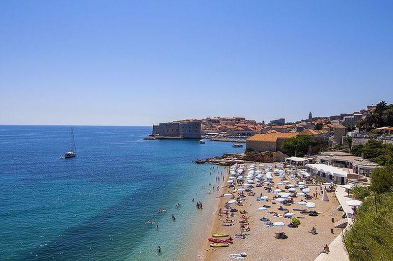 Banje Beach   Dubrovnik, Croatia Travel Dubrovnik Croatia Banjebeach