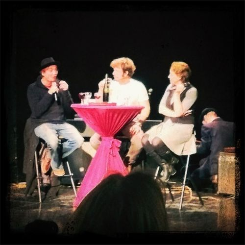#laughing w Toni Mahoni & Gotti Gottschild