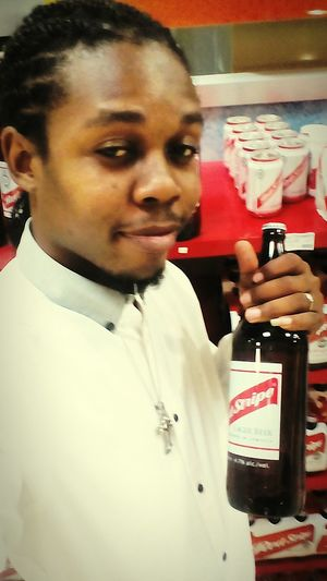 Hanging Out Taking Photos That's Me Relaxing Enjoying Life Red Stripe Beer Montego Bay Jamaica