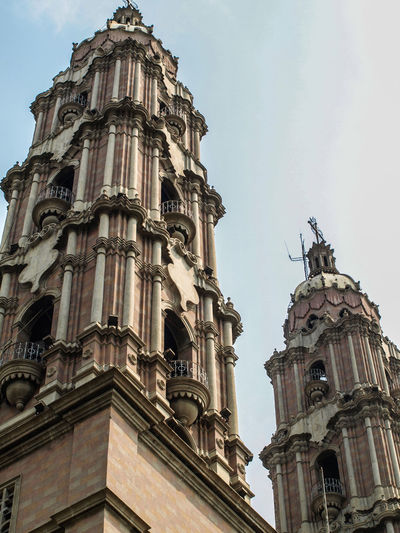 Catedral del Señor de Tabasco Architecture Belief Building Building Exterior Built Structure City Day History Low Angle View Nature No People Ornate Outdoors Place Of Worship Religion Sky Spirituality The Past Travel Destinations