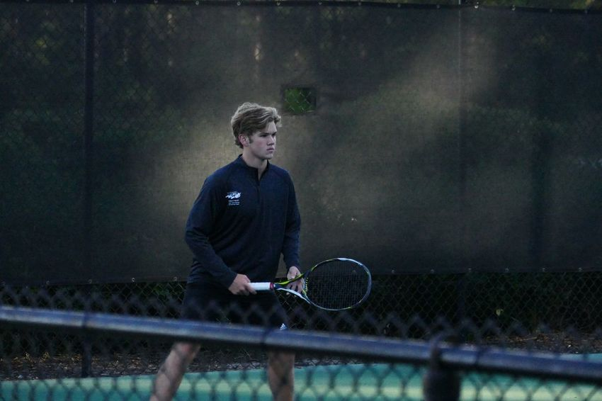 Tennis player Determination Determined Leisure Activity One Person Outdoors Sport One Teenage Boy Only
