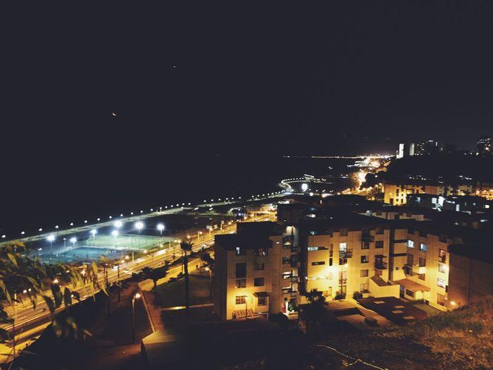 Moonlight Stars Freedom The City Light