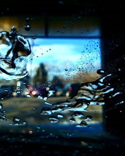 🎶🎶Workin at the car wash yeah🎶🎶 Just having some fun washing the car Water Closeup Photooftheday Photo Photographer Photography Micro Macro Vivid Clean Igers Drop Rain Perspective Bitoffun Capture Like Follow