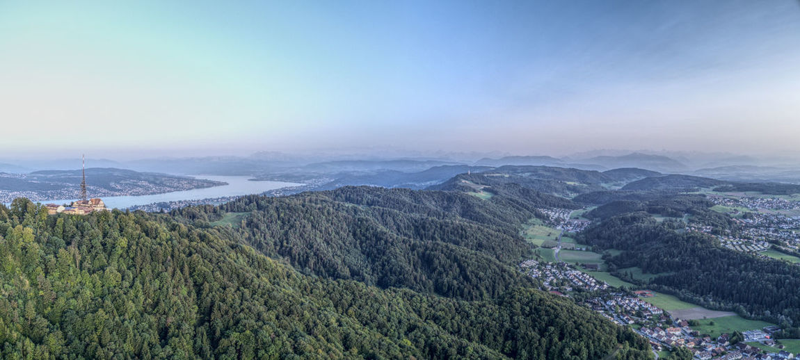 Drone  Enjoying The View Panorama Zürich Zürichsee Aerial View Beauty In Nature Dji Dronephotography Golden Hour High Angle View Landscape Mavic Mountain Mountain Range Nature No People Outdoors Scenics Tree üetliberg