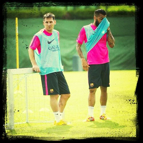 Leo Messi & Alves First Eyeem Photo
