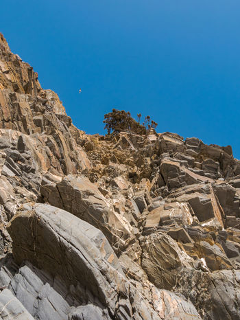 Clear Sky Low Angle View Nature Nature Photography Portugal Rock Rock Formation Tranquility Travel Travel Photography Traveling Travelling Beauty In Nature Blue Blue Sky Cavaleiro Lookingup Nature_collection Naturelovers Outdoors Rock - Object Scenics - Nature Sky Tranquil Scene Travel Destinations