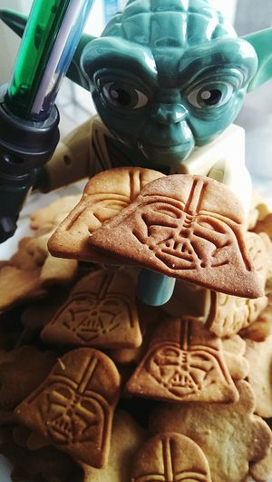 Come To The Dark Side. We Have Cookies Starwars From Russia With Love Yoda Starwars Darth Vader Homemade Ilikeit Sweet Hello World