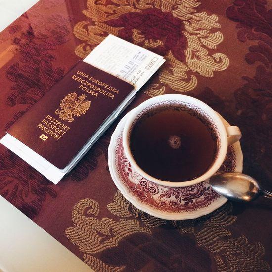 Best combination Travel Traveling Passeport Polishpasseport Czaj Tea Odessa
