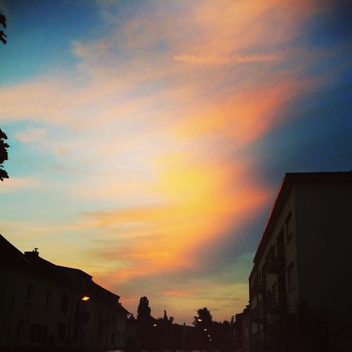 Check This Out Sunset Sky Fire Evening