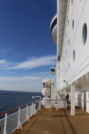 Das Fährschiff Color Magic Cloud Color Line Color Magic Fähre Horizon Over Water Norge Norway Norwegen Outdoors Railing Schiff Sea Ship The Way Forward Visitnorway Visitoslo Walkway Water
