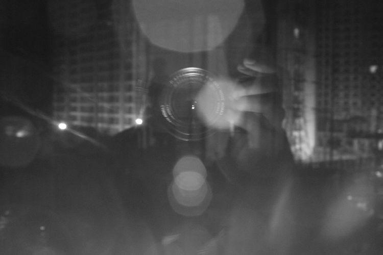 Monochrome Canon Lens Flare B&w Photography