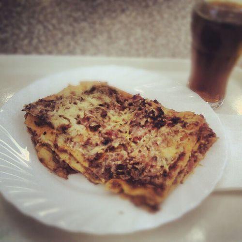 War leckerer als es aussah #Lasagne #Kantine Lasagne Kantine