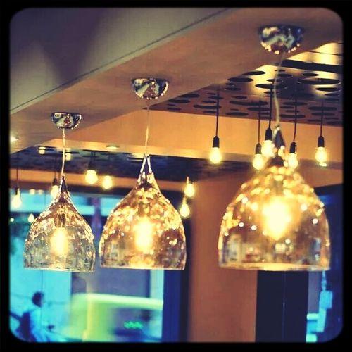 Lights Cafe Glass Brightness