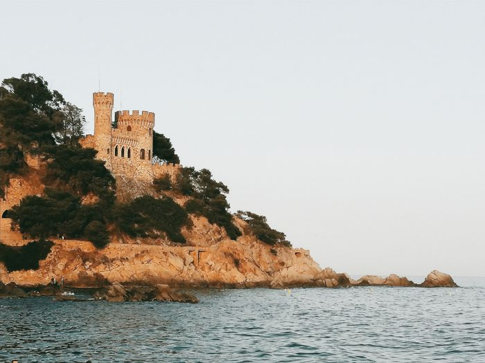 Lloret de mar, Spain. No People Building Exterior Close-up Nature Travel Destinations Freshness Visualsoflife Visual Inspiration Finally Outdoors Master_shots Masterclass Full Frame EyeEm Best Edits EyeEm Masterclass From My Point Of View EyeEm Best Shots EyeEmNewHere Perspective Photography Architecture_collection Built Structure Architecture Tranquil Scene Sea Castle Architectural Feature The Secret Spaces Long Goodbye