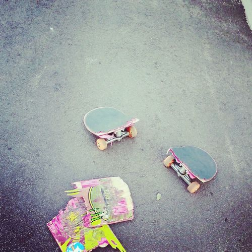 Skateboarding Mad World My Deck No Fun