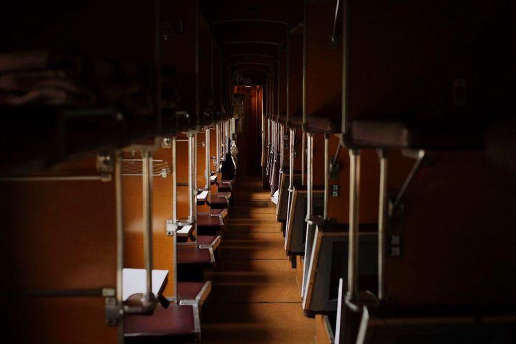 Row of corridor